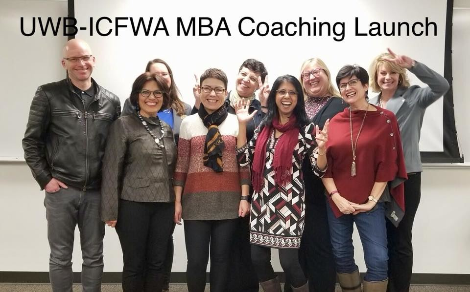 The ICFWA Team with the UWB Graduate Program Adviser